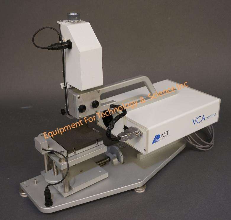 Ast Products Vca Optima Xe Contact Angle Goniometer With