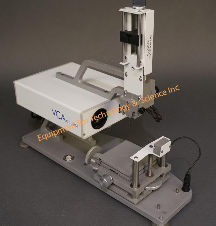 AST Products VCA Optima S Contact Angle Goniometer with manual syringe