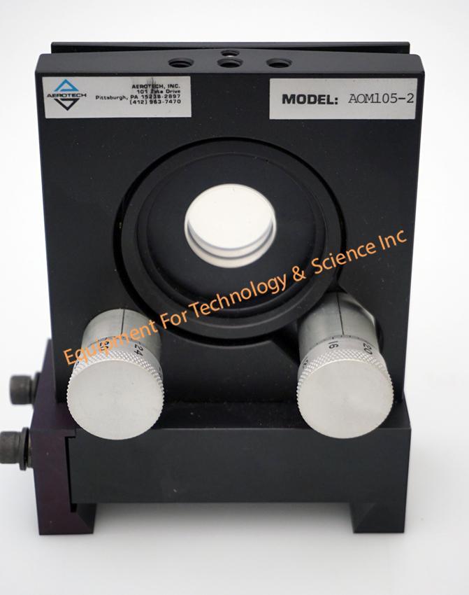 Aerotech AOM105-2 2-axis gimbal for optical lens