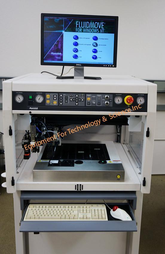 Nordson Asymtek Century C-720 dispensing system with DV-8321 pump
