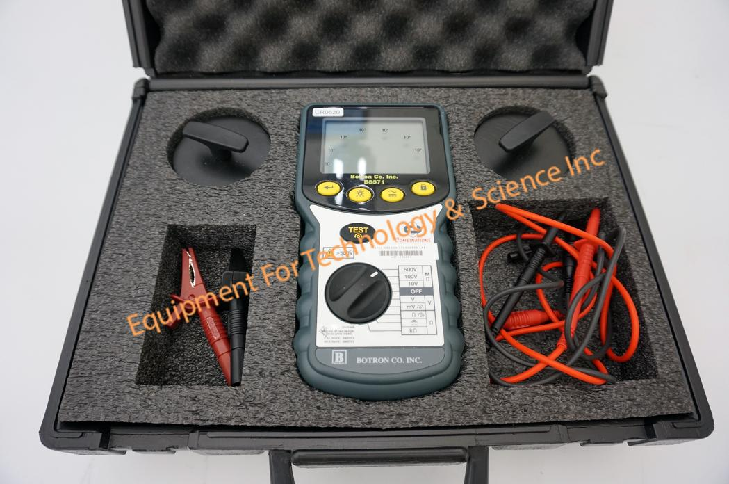 AVO Int'l Botron Company B8571 surface resistivity test kit