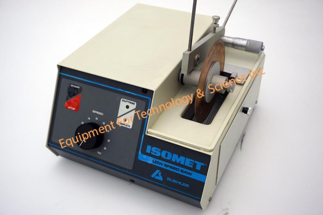 Buehler Isomet low speed diamond saw