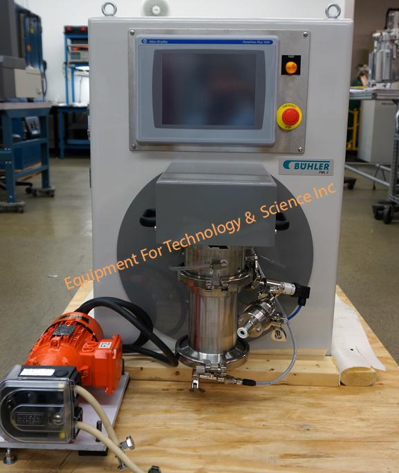 Buhler PML 2-A micromedia bead mill with polyurethane rotor and stator