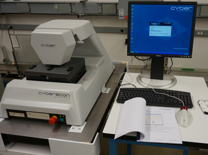 Image of Cyberscan-Vantage-Noncontact-Profiler-with-Keyence-LT9010M by EquipX Inc.