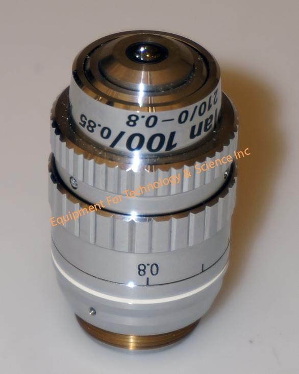 Nikon Hamamatsu IR Plan 100/0.85 210/0-0.8 objective