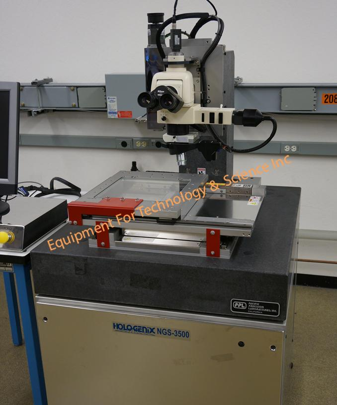 RMS Systems/Hologenix NGS 3500 Defect Detection System