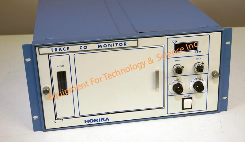 Horiba U-Series G-350E IR Carbon Monoxide Analyzer