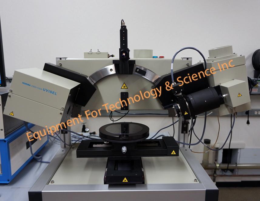 Horiba Jobin Yvon UVISEL Spectroscopic Phase Modulated ellipsometer 190nm-2100nm