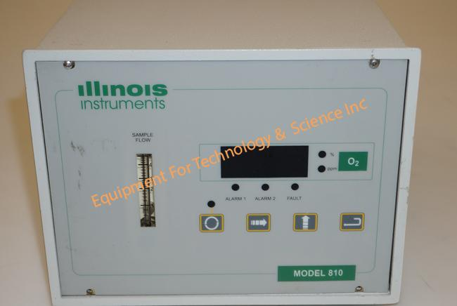 Illinois Instruments 810 trace oxygen analyzer