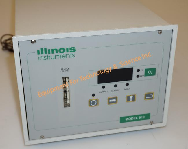 Illinois Instruments 910 trace oxygen analyzer