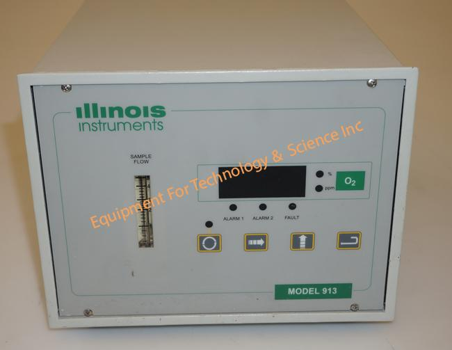 Illinois Instruments 913 trace oxygen analyzer