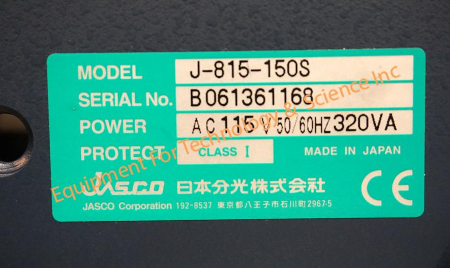 <br /> <b>Notice</b>:  Undefined index: alt in <b>/home/equiptec/public_html/addon-domains/equipx.net/themes/equip/template/product/products.php</b> on line <b>96</b><br /> Jasco J-815 Spectropolarimeter