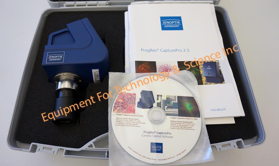 Jenoptix ProgRes C5 CCD digital cmaera- 5 megapixel
