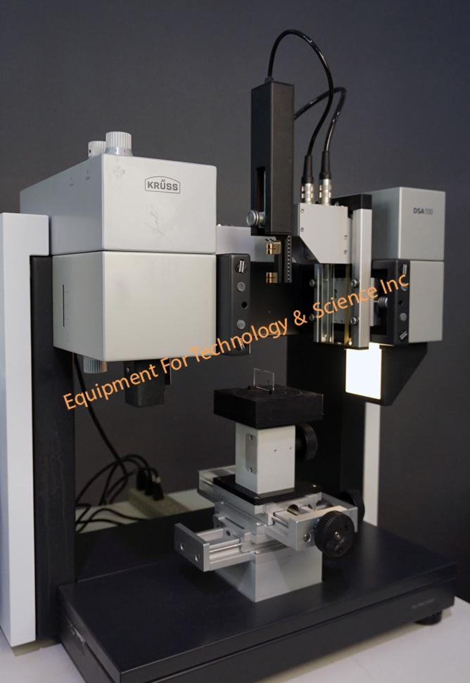 Kruss DSA100S automated contact angle and drop shape analysis system