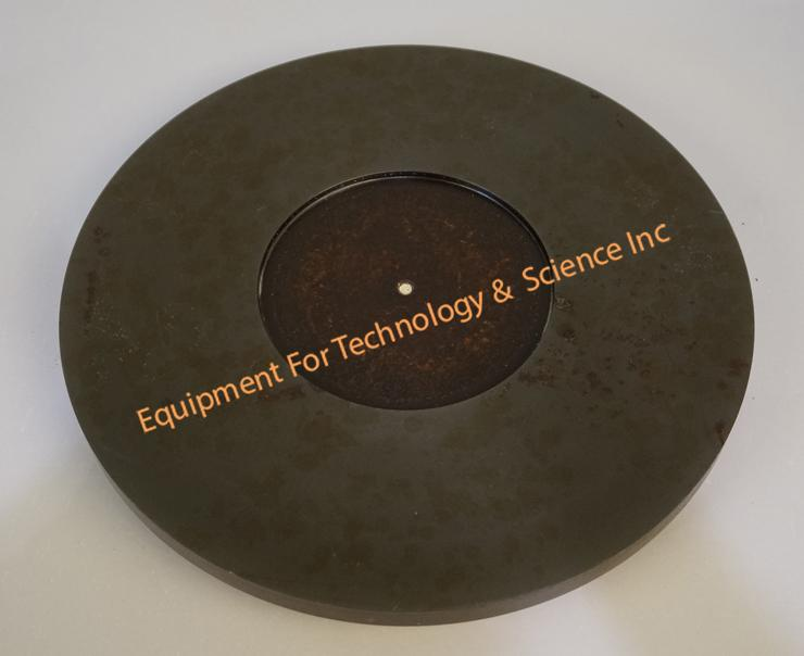 Logitech 355mm cast iron lapping plate for LP50