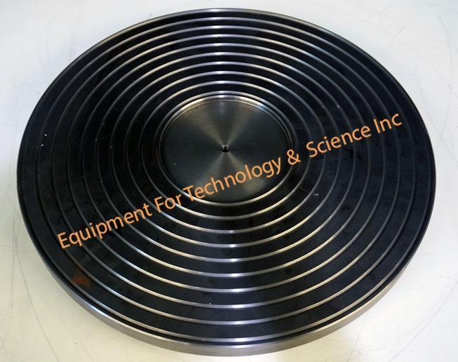 Logitech 370mm platten with circular grooves for LP50