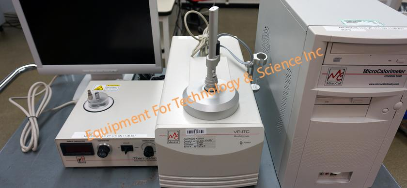 Malvern Microcal VP-ITC Isothermal Titration Calorimeter with ThermoVac degas unit