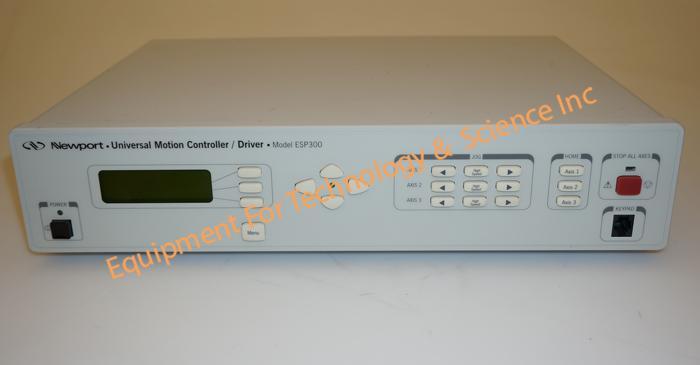 Newport ESP300-IIIIII motion controller-3 axis with IEEE