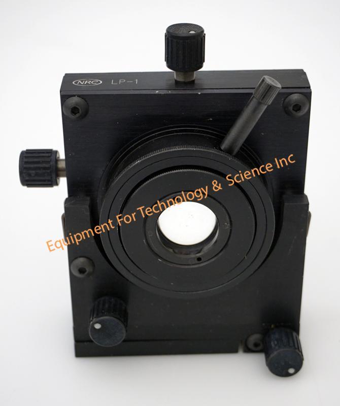 Newport LP-1 5 axis lens positioner