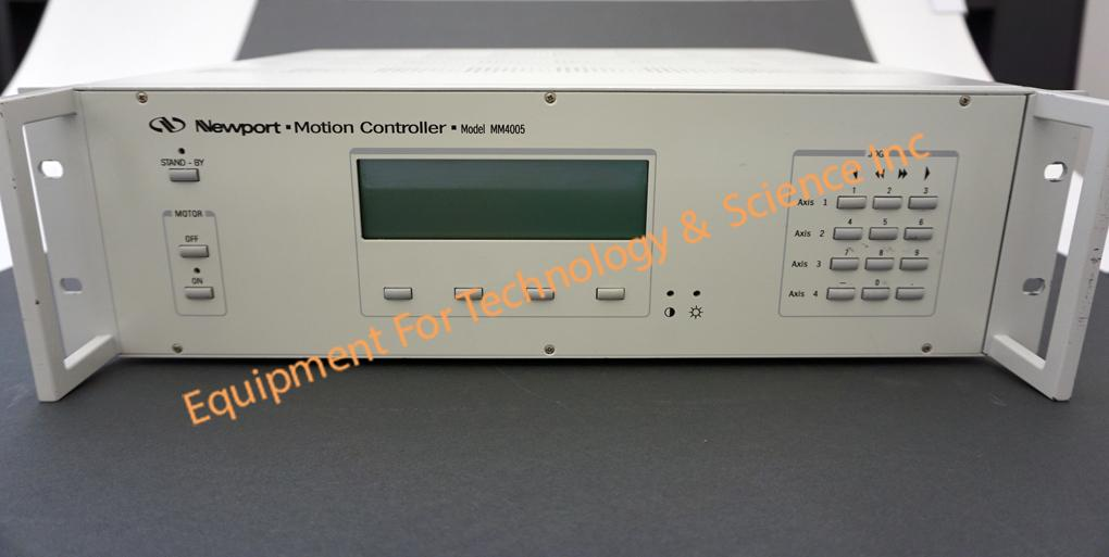 Newport MM4005 8 channel motion controller