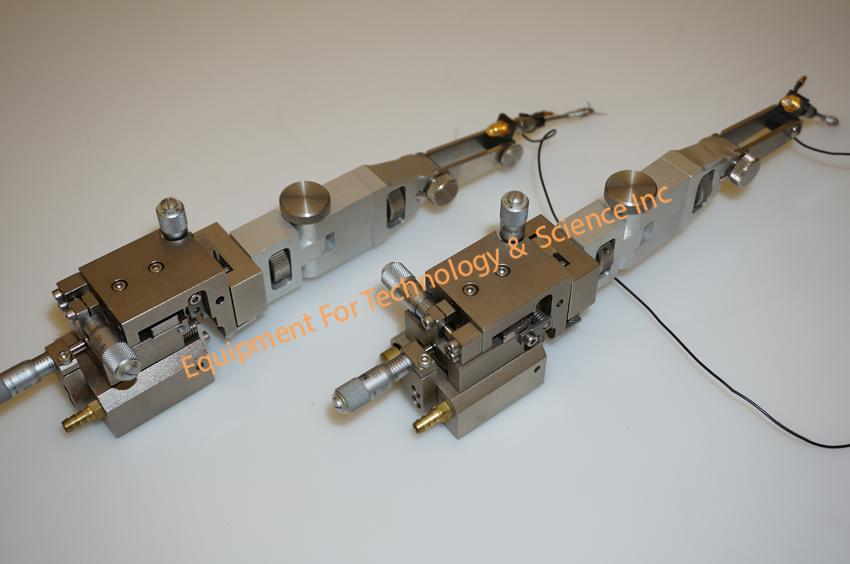 Newport XYZ Micropositioners, pair