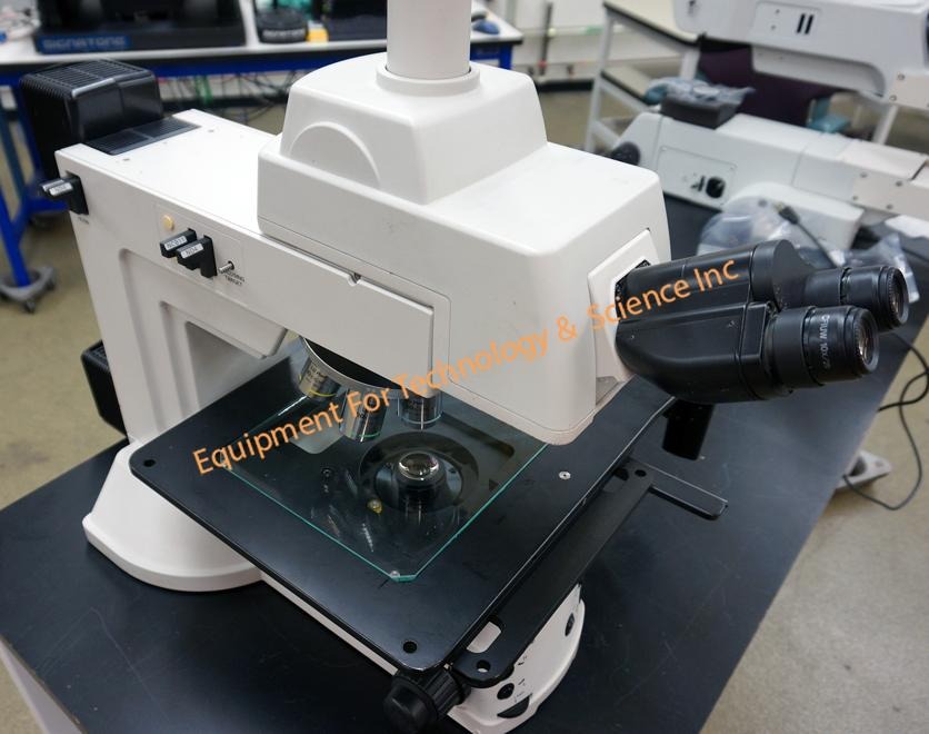 Nikon Eclipse L200D inspection microscope with reflected and transmitted illumination