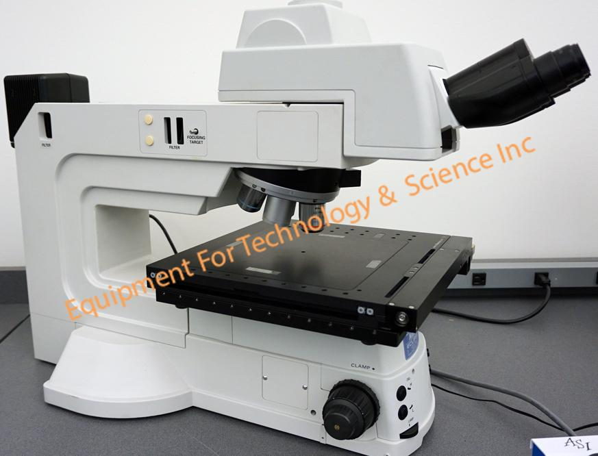 Nikon Eclipse L300 inspection microscope with ASI MS-8000 8x8 XY travel motorized stage