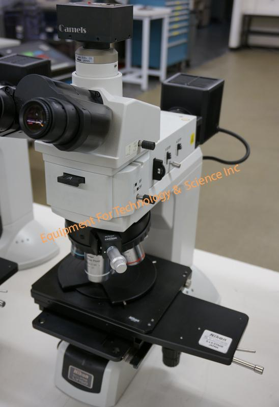Nikon LV150 inspection microscope