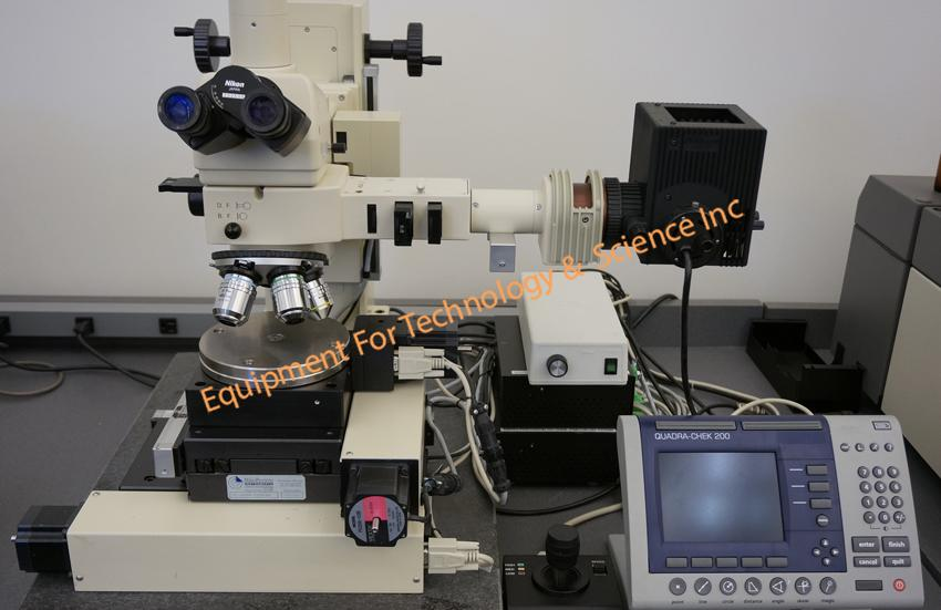 Image of Inspection-Microscope-with-Nikon-optics-Granite-Base-Motorized-Focus-Motorized by EquipX Inc.