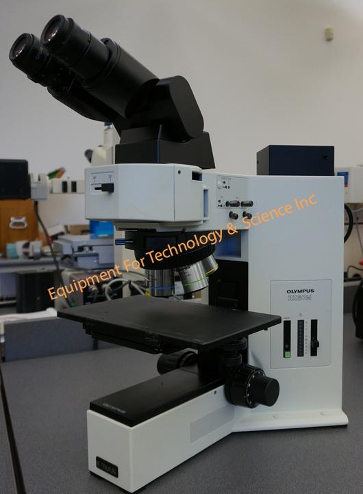 Olympus BX60MF inspection microscope
