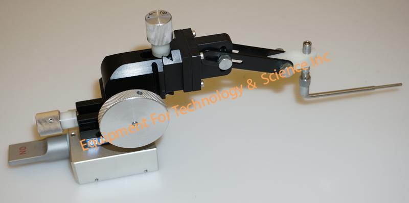 Oyama OYM-131 micropositioner with magnetic base