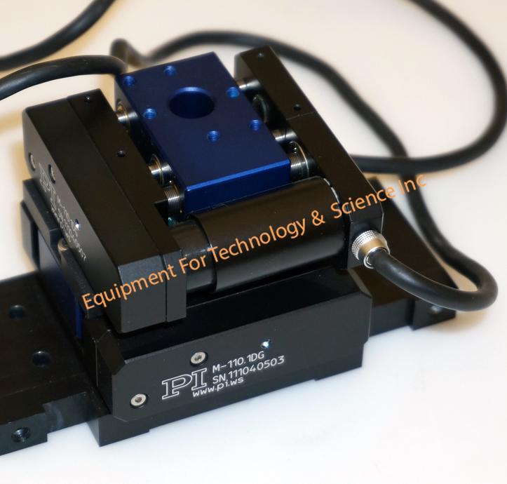 PI  Physik Instruments M110.1DG Micro-translation XY stage