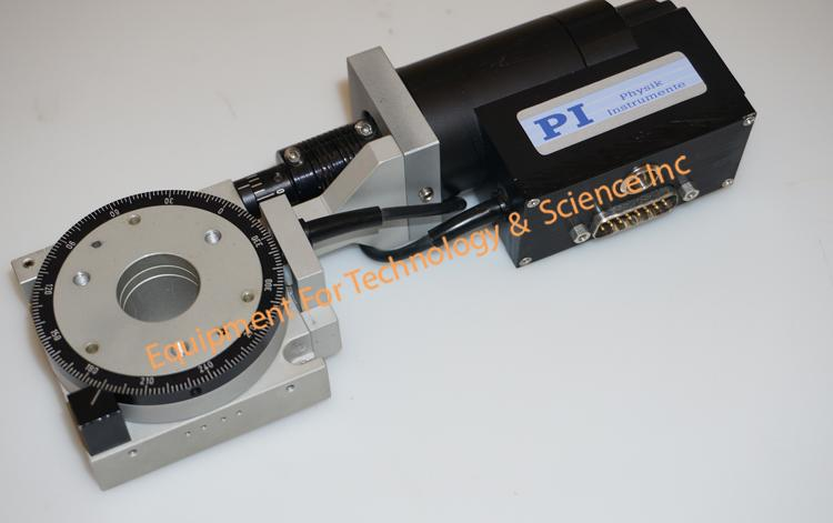 PI Physik Instruments M037.PD precision rotation stage