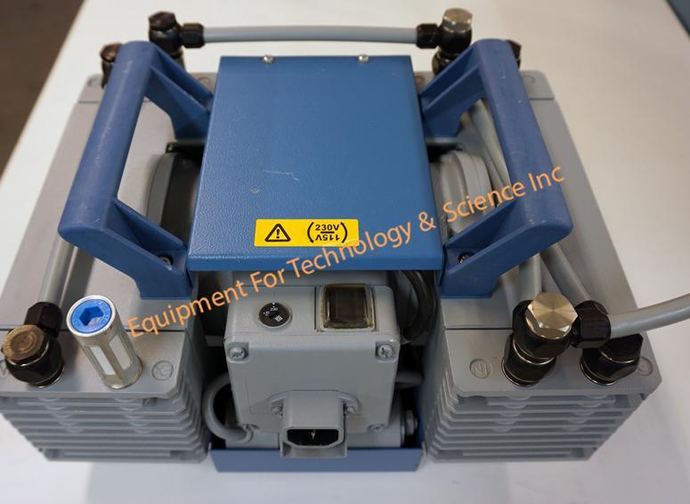 Pfeiffer MV-055-3 diaphram vacuum pump 3.3 m3/hour, 2CFM