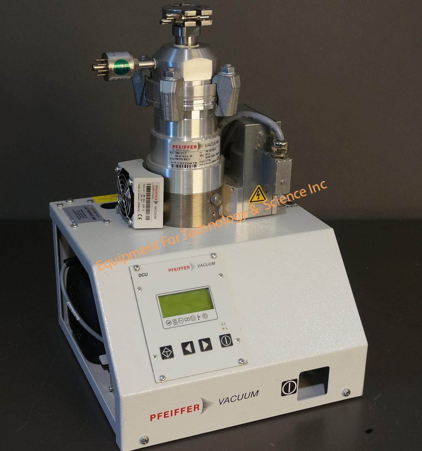 Pfeiffer TSH071E turbo pumping system