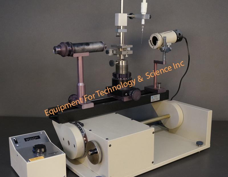 Rame Hart model 100 Contact angle Goniometer with tilting base
