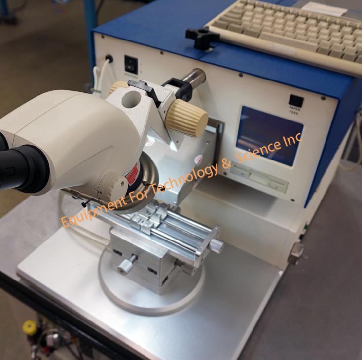 Royce 552 Die Shear and Bond Pull Testing Machine with 1 module