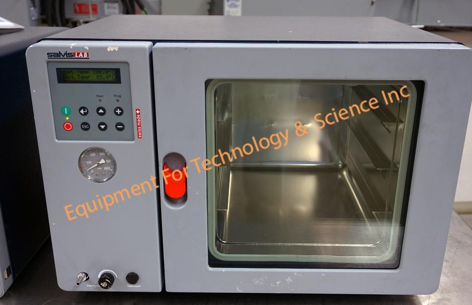 Salvis VC-20 vacuum oven- max 200C(392F)