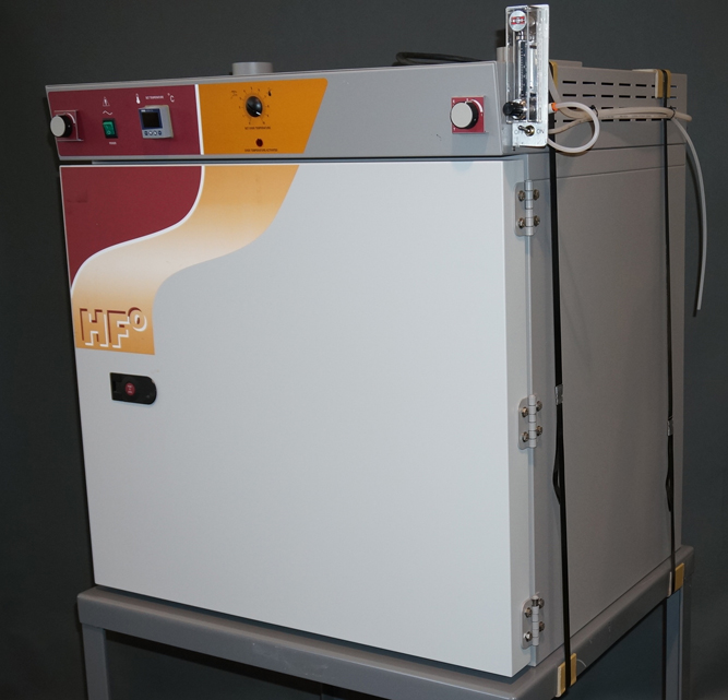 Shellab HF2-2 forced air oven with inert atmosphere max 300C