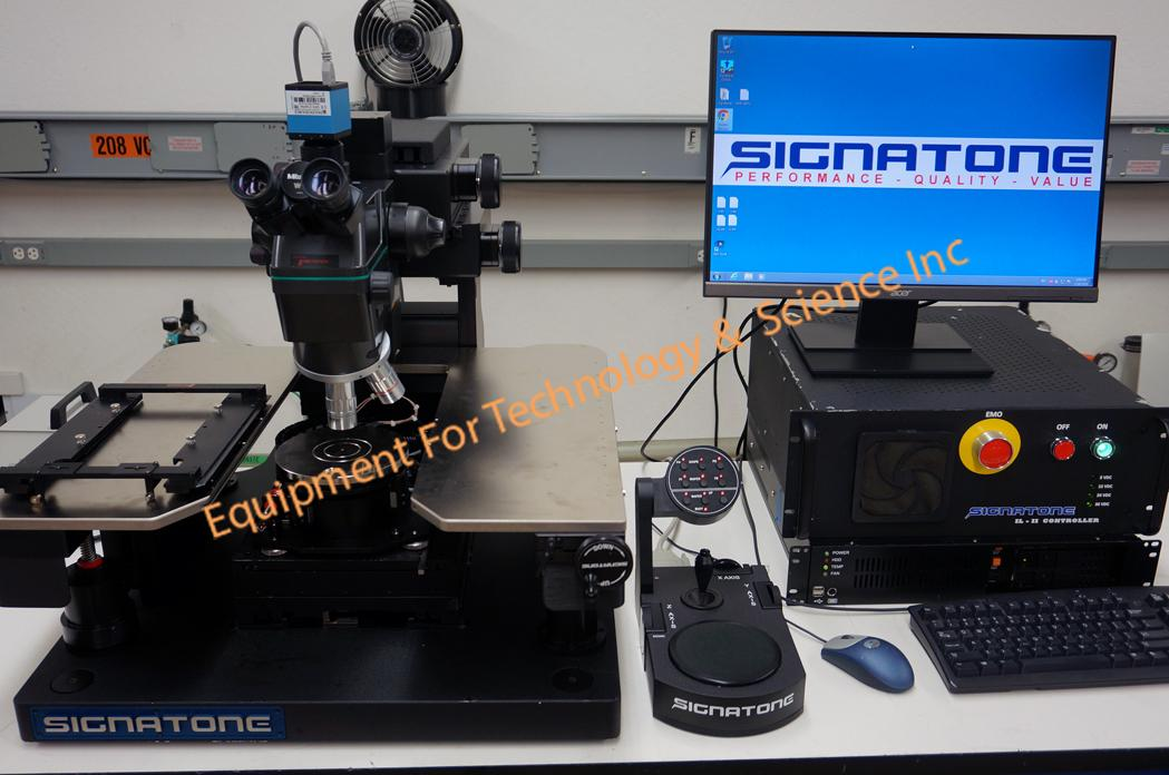 Signatone CM460-22 semiautomatic probe station