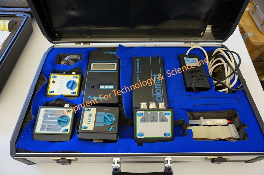 Solomat MPM2000 Pressure, Temperature, Air velocity data logger