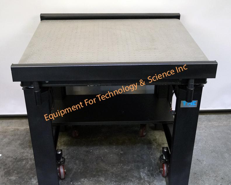 TMC 63-533 vibration isolation table, 30x36, with breadboard top and casters