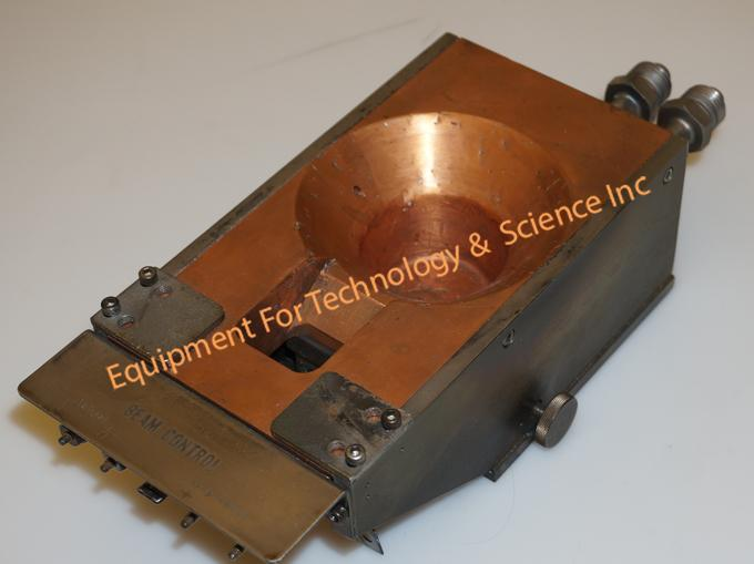 Temescal SFIH-270-2 40cc electron beam source with 5 new crucibles