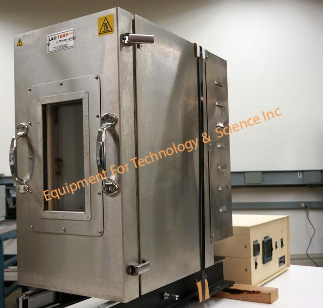 Thermcraft Lab-Temp LBO-24-10-10-1X-J5929/1A Temperature Chamber for Tensile Tester