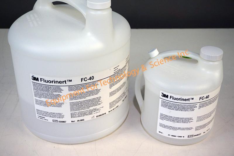 Gross leak FC-40 Fluorinert fluid