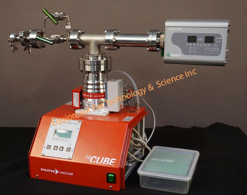 Ulvac Qulee BGM-102L Residual Gas Analyzer with Pfeiffer dry pumping system 0-100amu EM tube/Faraday cup