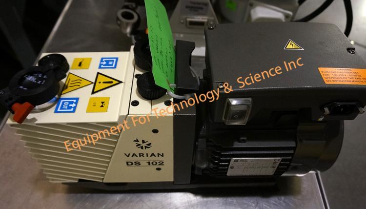 Varian DS102 2 stage vacuum pump 3.5CFM