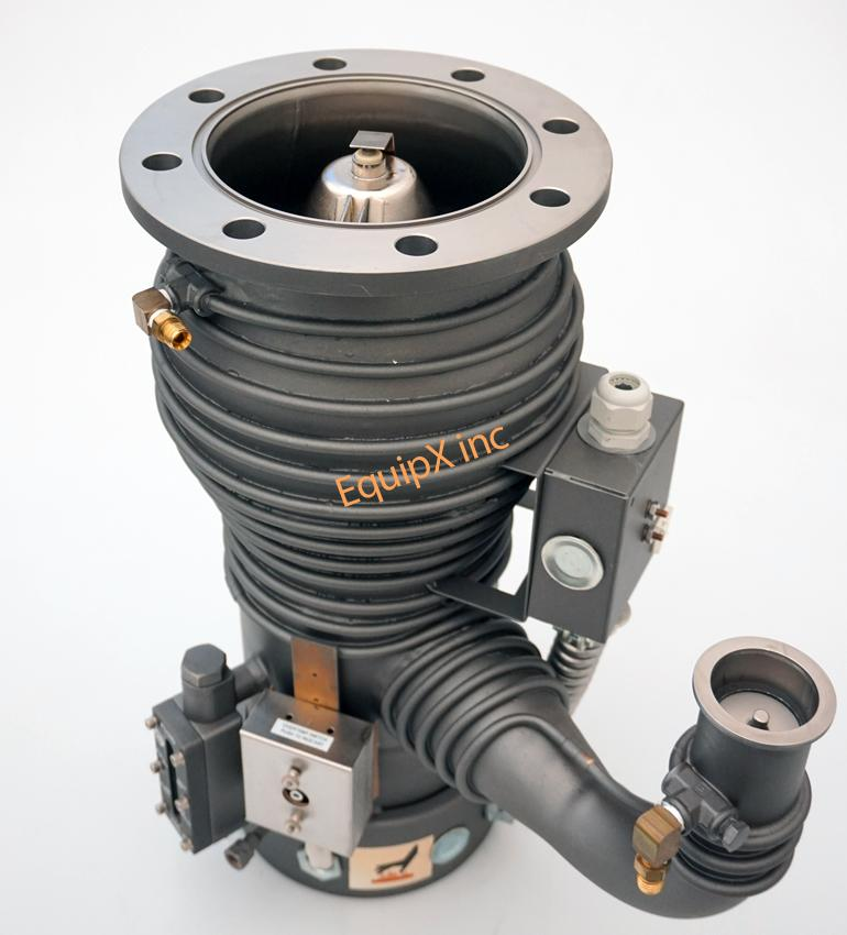 Varian VHS-4 diffusion pump, no.86460316, *NEW*,  with extended cold cap, 208 V, single phase, ASA flange
