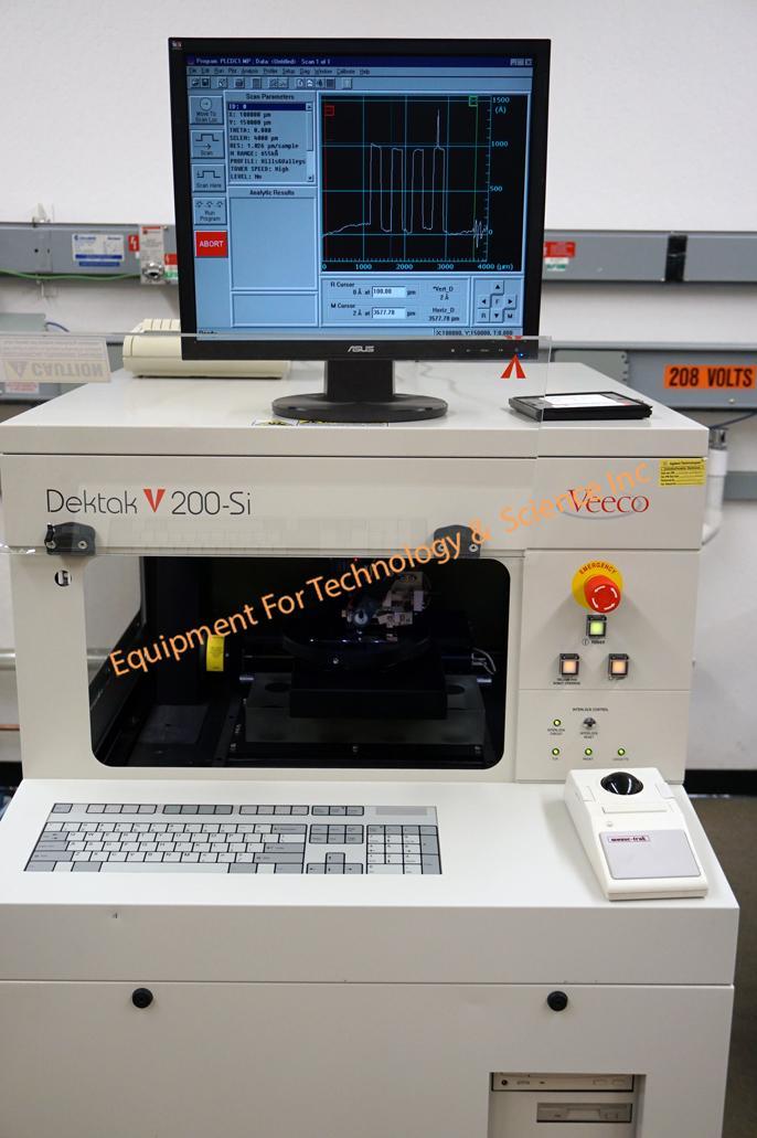 Veeco Dektak V200-Si Stylus Profiler