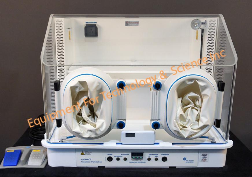 Don Whitley MiniMacs Anaerobic HEPA workstation